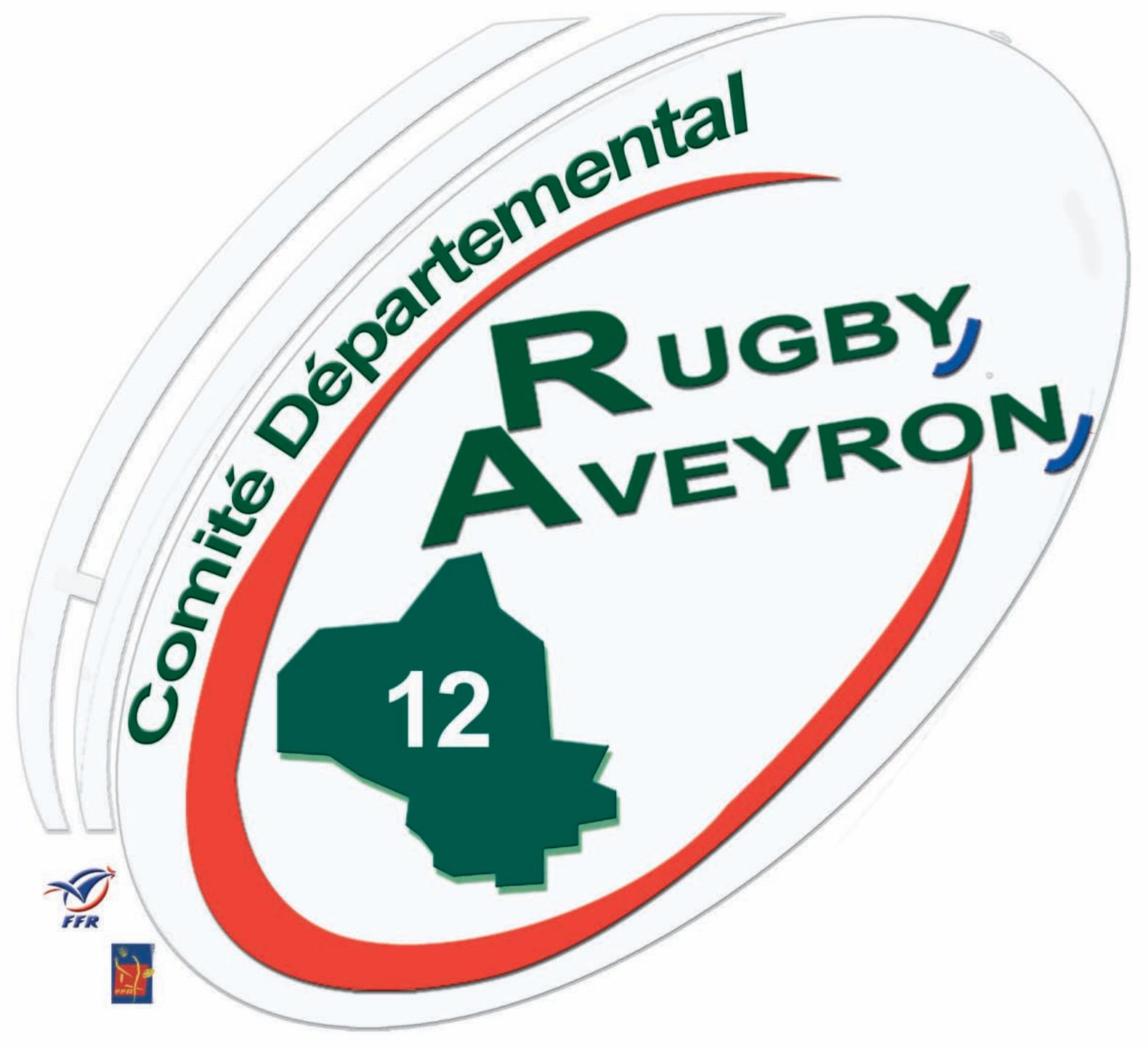 Logo Comité Rugby Aveyron