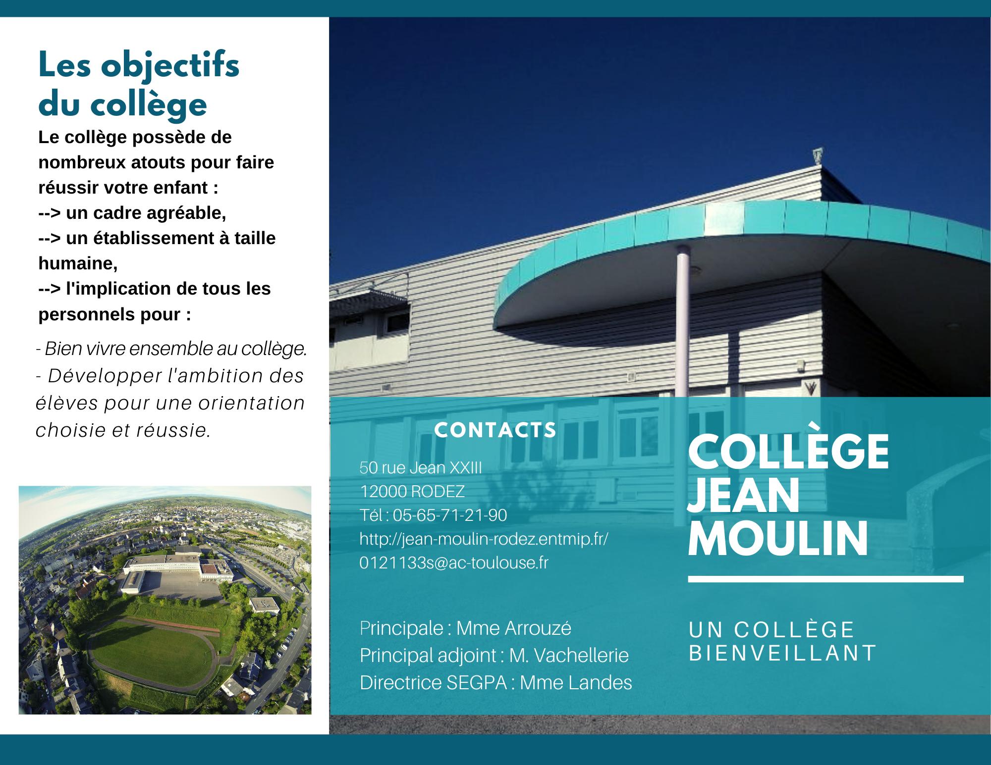 Collège Jean Moulin Rodez